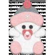 Winter Fun - Snow Baby Pink Snow Baby