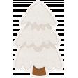 Winter Fun - Snow Baby Snowy Tree