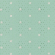 Spring Day Collab - March Winds Floral Polka Dot Paper