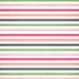 Spring Day - May Flowers Striped Paper