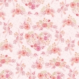 Spring Day Collab - May Flowers Pink Floral Paper