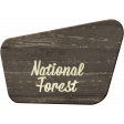 Into the Woods - National Forest Sign