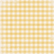 Into the Woods - Yellow Gingham Paper