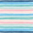 Destination Florida Beach Watercolor Stripes Paper