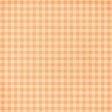 Garden Tales Mini Kit - Orange Gingham Paper
