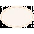 Garden Tales Orange Oval Label