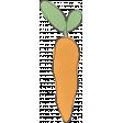Garden Tales Elements - Carrot Doodle