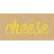 Food Day - Cheese Word Art