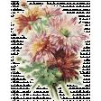 Fall Flurry Floral Sticker