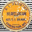 Harvest Pie Cream Label