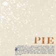 Harvest Pie - Pie Recipe Journal Card 4x4