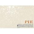 Harvest Pie - Pie Recipe Journal Card 4x6