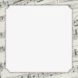 Elegant Autumn Music Journal Card 4x4