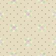 New Day Beige Floral Polka Dot