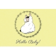 New Day Baby Hello Baby 03 Journal Card 4x6