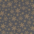 Sunshine and Snow Golden Snowflakes Paper