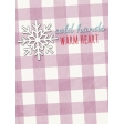 Sunshine and Snow Cold Hands Warm Heart Journal Card 3x4