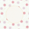 Sunshine and Snow Snowflakes Journal Card 4x4