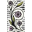 May Good Life - Luncheon Flourish Sticker