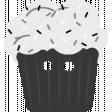 Comfort Food Templates - Cupcake Button