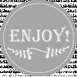 Comfort Food Templates - Enjoy Label