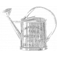 Spring Day Templates - Watering Can