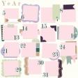 Calendar Layout Template : Right