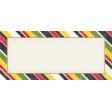 Heading Back 2 School Label - Striped