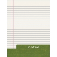 Heading Back 2 School - Noted 3x4 Journal Card