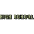 Heading Back 2 School - High School Word Art