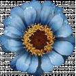 Bonfire Memories Blue Flower