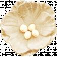 Bonfire Memories Cream Flower