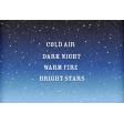 Bonfire Memories Starry Sky Journal Card 4x6