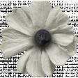 Warm n Woodsy White Flower