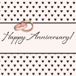 Legacy of Love Happy Anniversary Journal Card 4x4