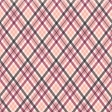 Legacy of Love Pink Plaid Paper