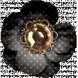 Reminisce Black Polka Dot Flower