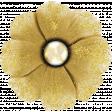 Reminisce Gold Glitter Flower