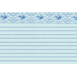 Coastal Spring Note Paper Journal Card 4x6