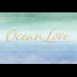 Coastal Spring Ocean Love Journal Card 4x6