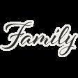 Reminisce Family Word Art