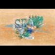 Coastal Spring Sea Journal Card 4x6