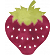 Delightful Days Watercolor Strawberry