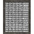 Veggie Table Elements - Black Frame