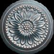 Old Farmhouse Ornate Button