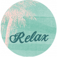 Winter in the Tropics Relax Label