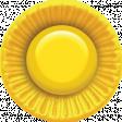 Bohemian Sunshine Element Sunny Button