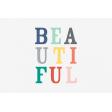 This Beautiful Life Beautiful Journal Card 4x6