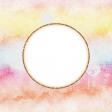 Bohemian Sunshine Rainbow 4x4 Journal Card
