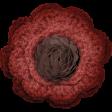Frosty Forest Burgundy Flower